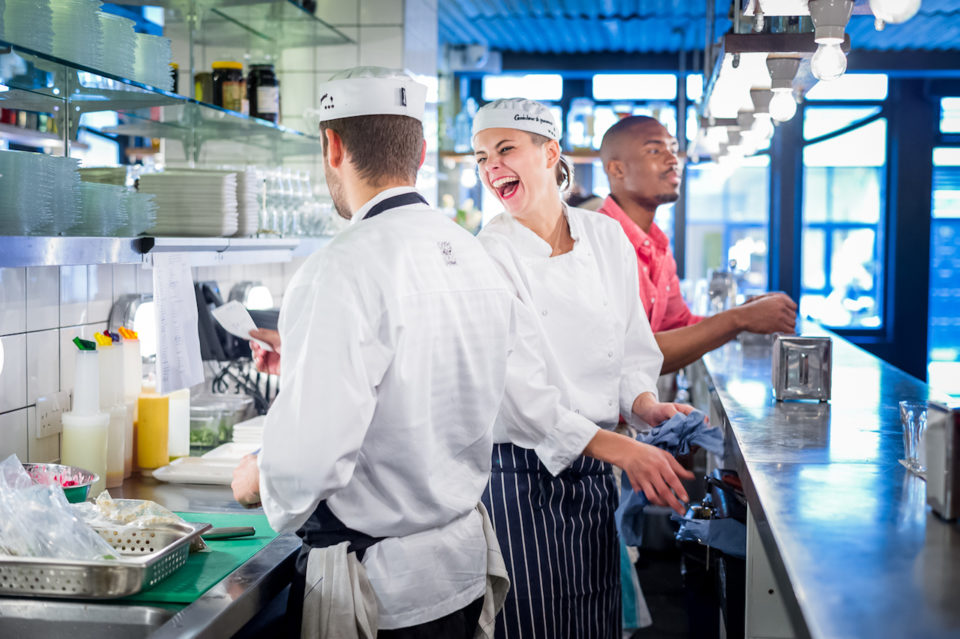 Head Chef, Sous Chefs and Kitchen Management