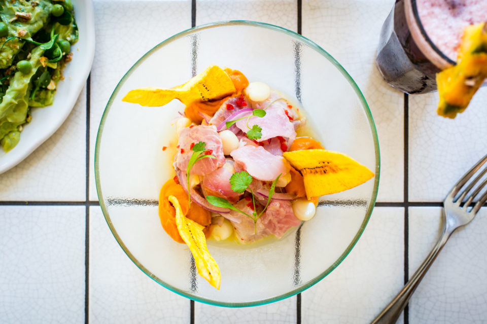 CEVICHE'S NEW SEASON MENU